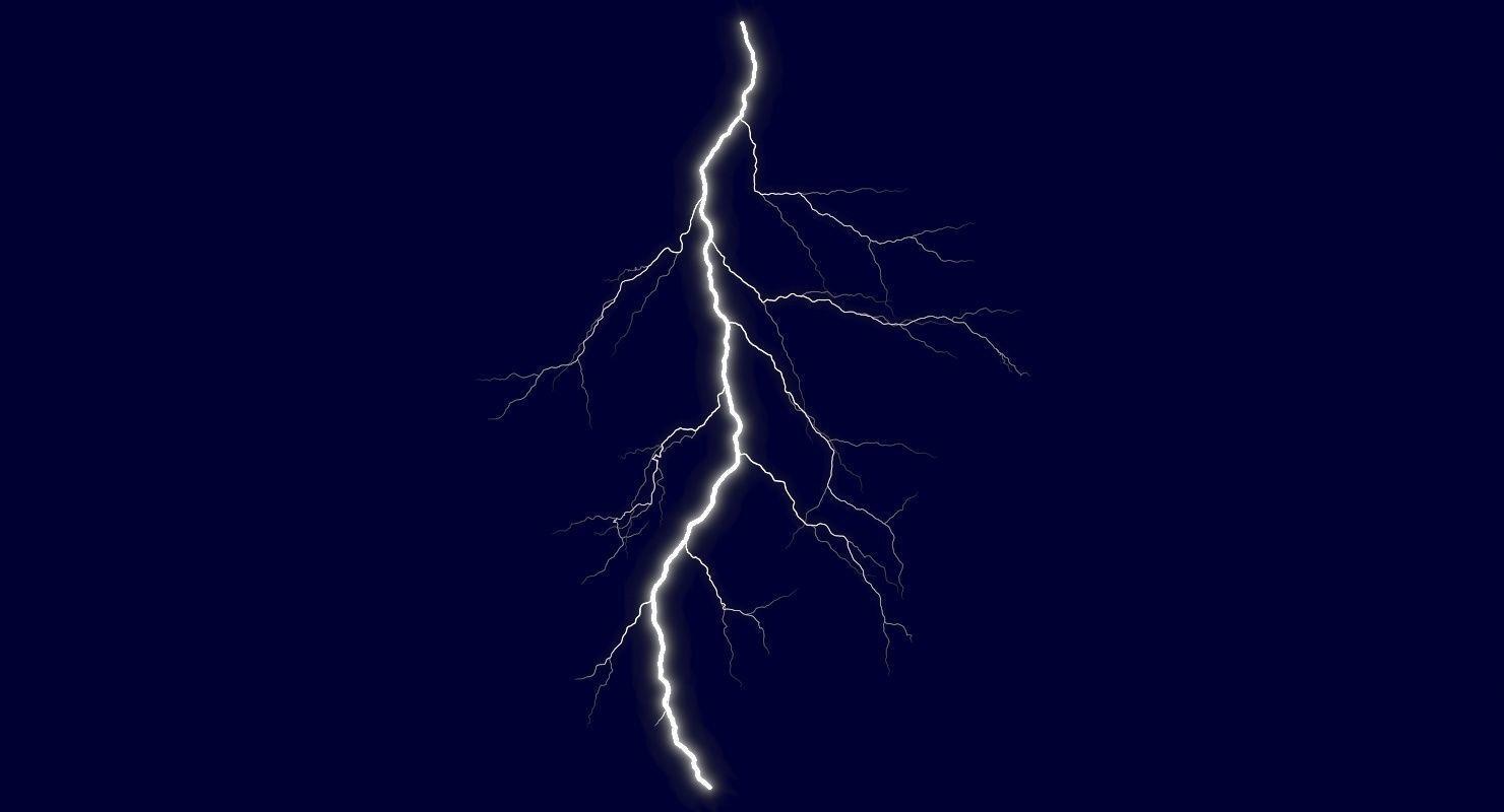 Realistic 3D Lightning CG-05