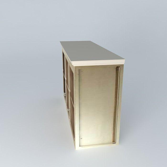 Kitchen Cabinet 01 3d Model Max Obj 3ds Fbx Stl Skp