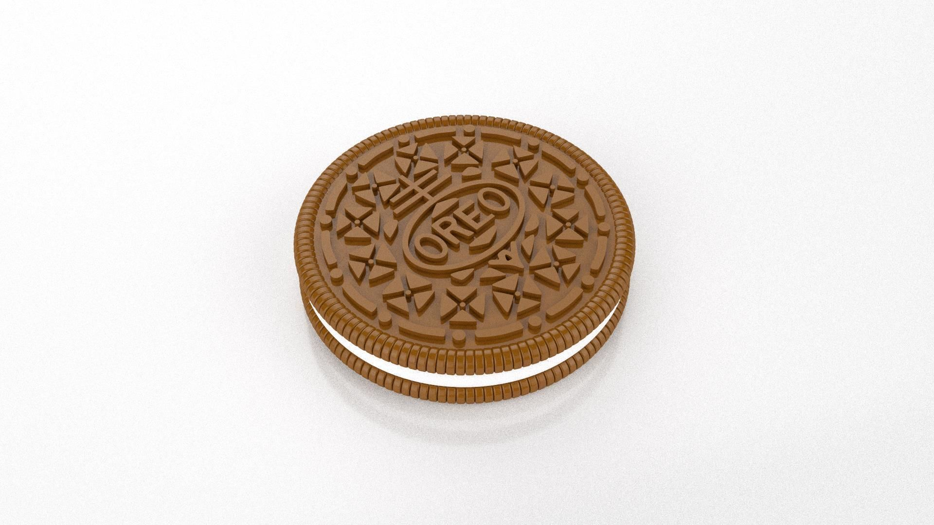 Oreo biscuit sculpture and pendant