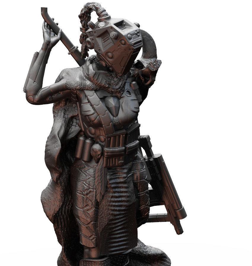 Sci Fi Female Fighter Pirate Raider