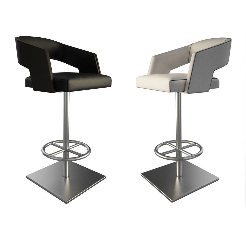 Jolly Leather Stools 1