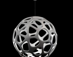 hive Kairos Suspension Lamp 3D model