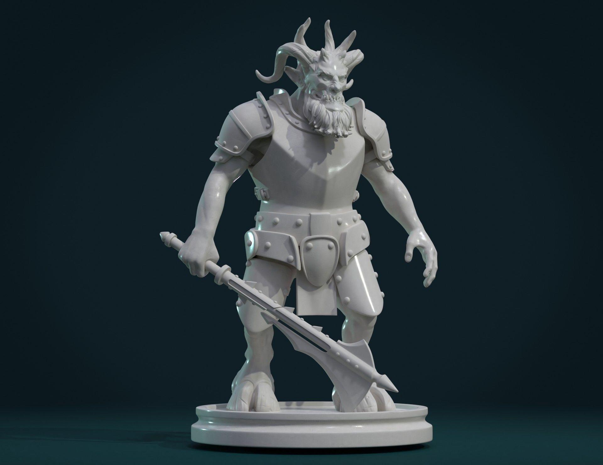 Demon figure III