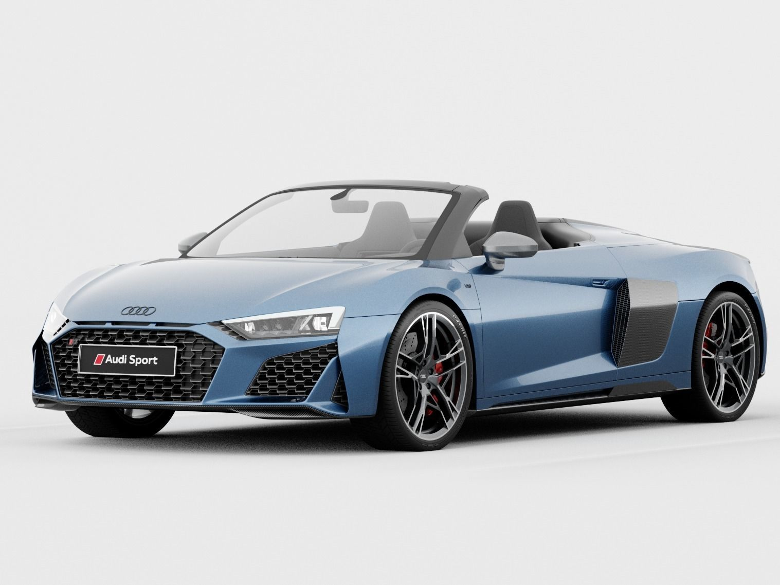 Audi R8 Spyder 2020 DETAILED INTERIOR