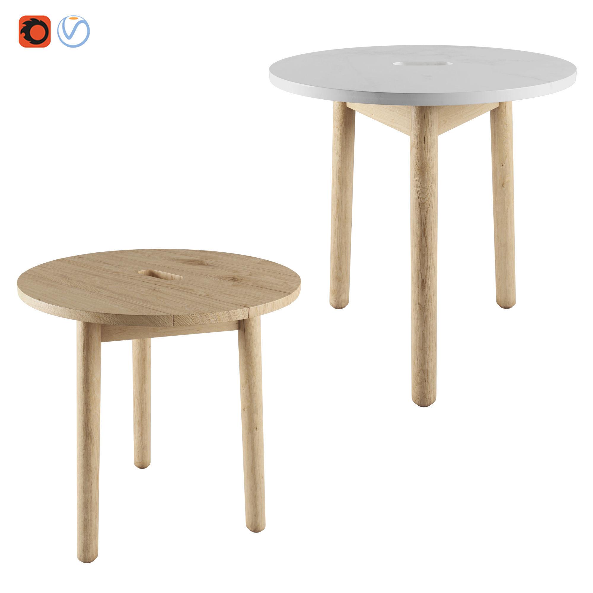 Riva Side table By Jasper morrison