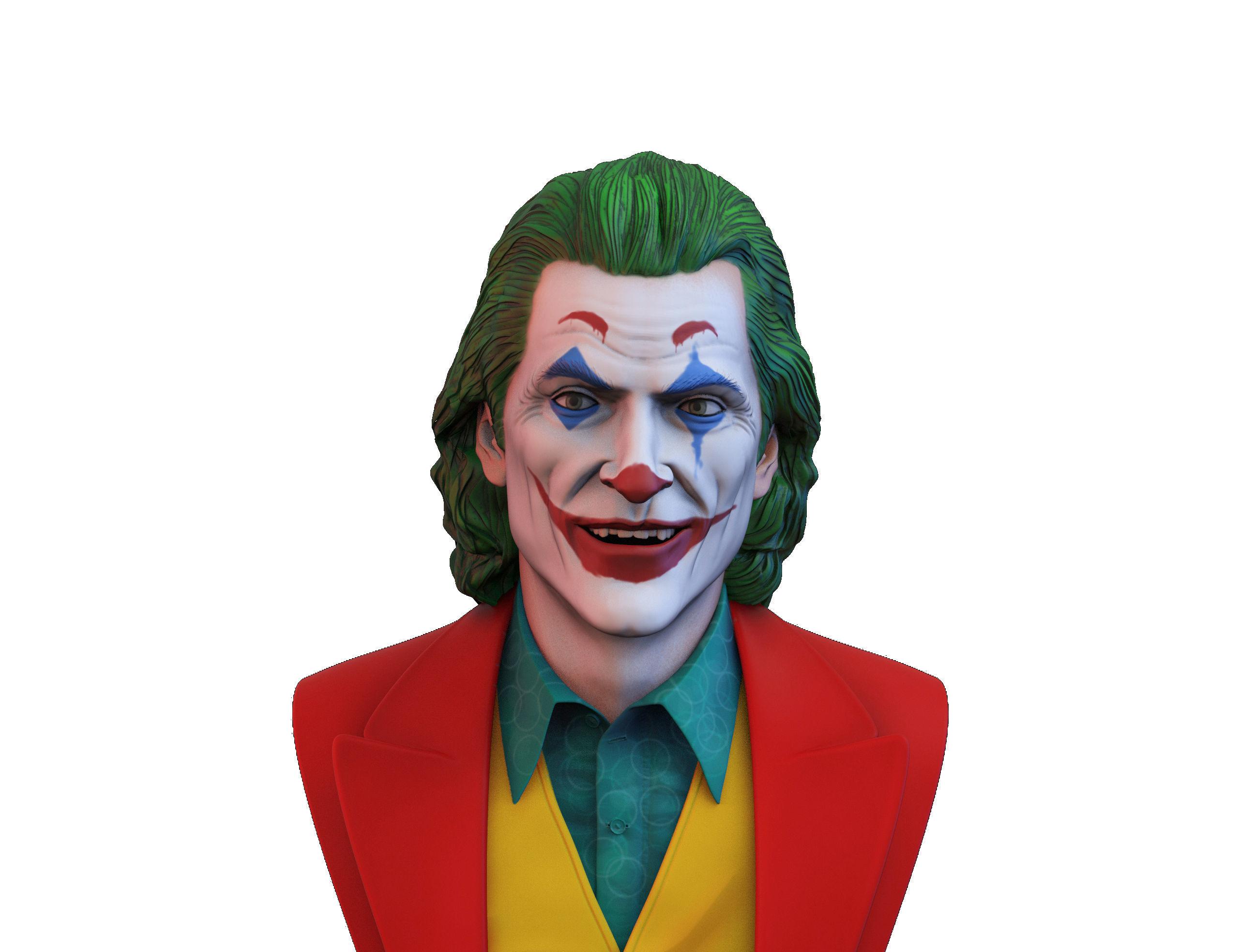 Joker 2019 Joaquin Phoenix bust