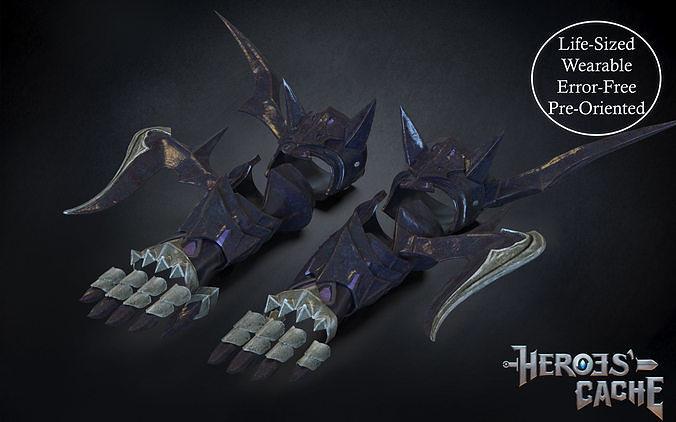 Final Fantasy XIV - Drachen Armor - Arm