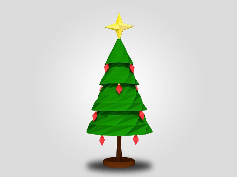 Christmas Tree 3D Model 3D Printable .stl
