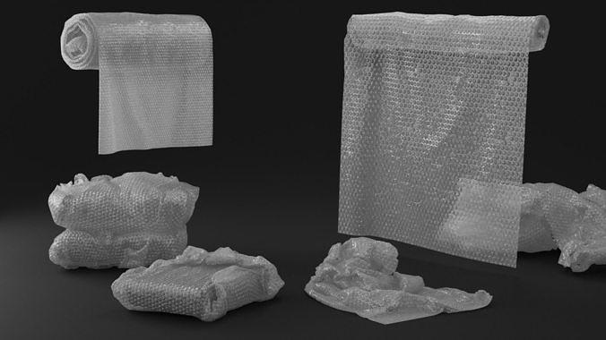 Bubble Wrap Objects