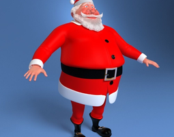 Santa Claus 3D noel