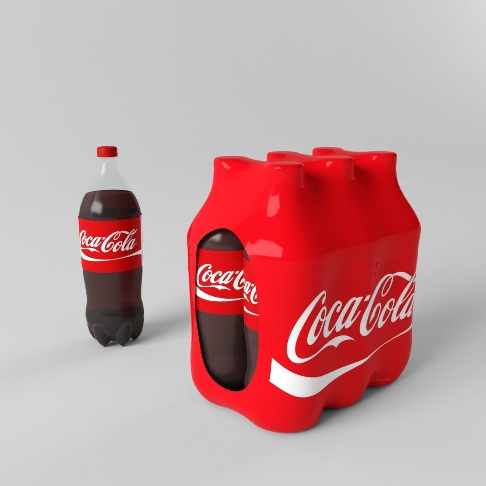 Coca-Cola Plastic Bottle with Pack