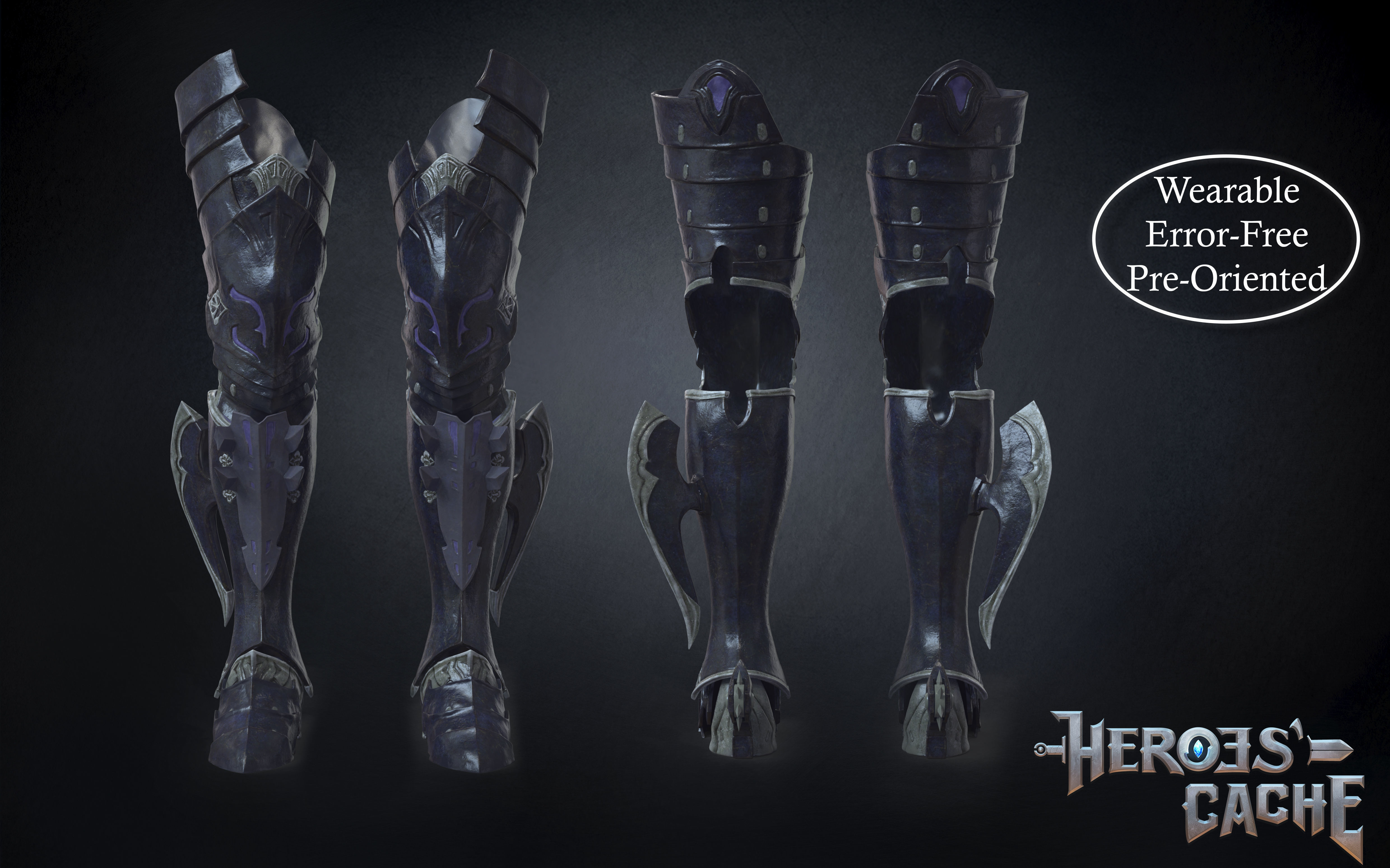 Final Fantasy XIV - Drachen Armor - Legs
