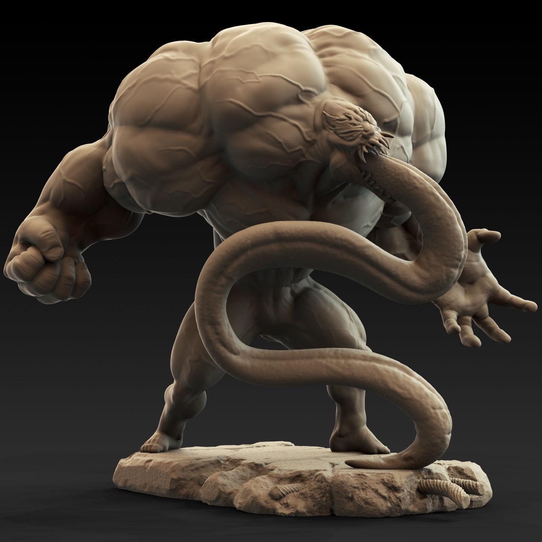 Marvel Spiderman Venom Statue