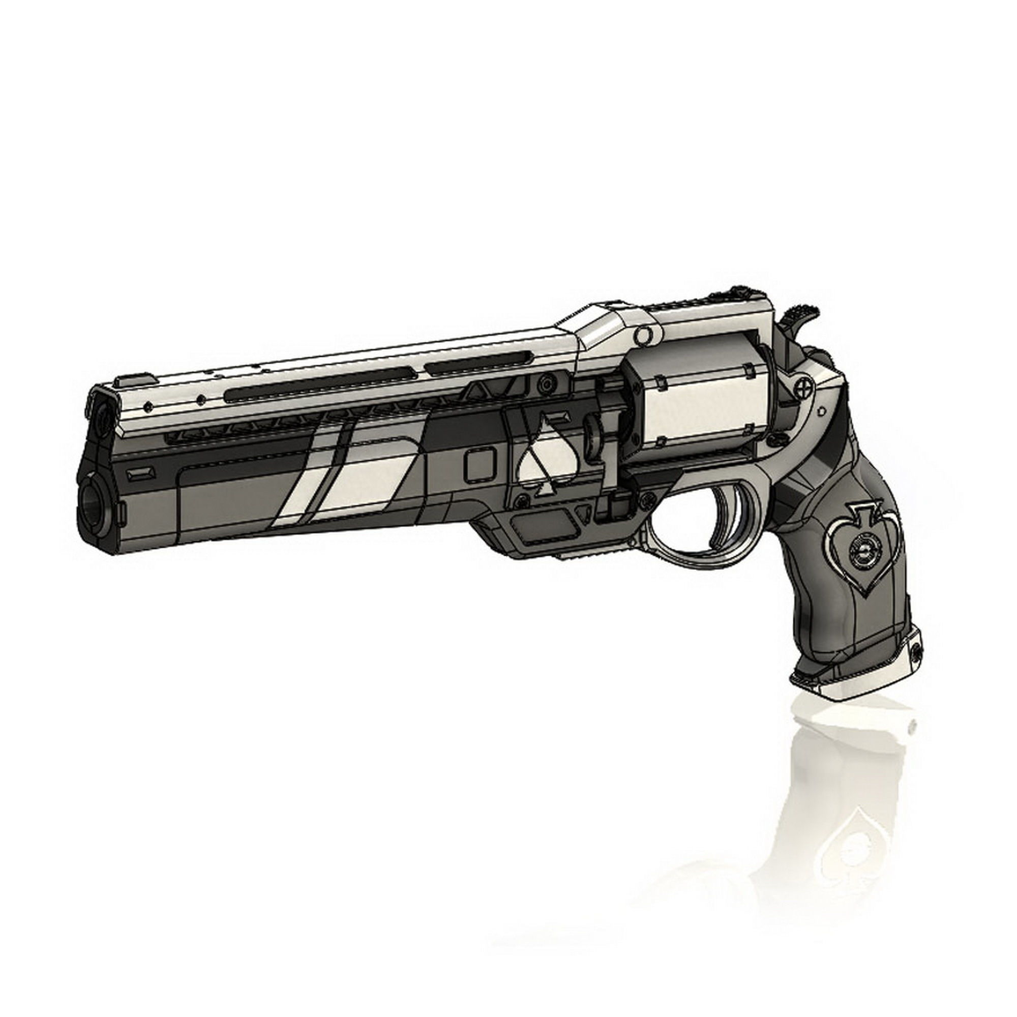 Ace of Spades Exotic Hand Cannon Destiny
