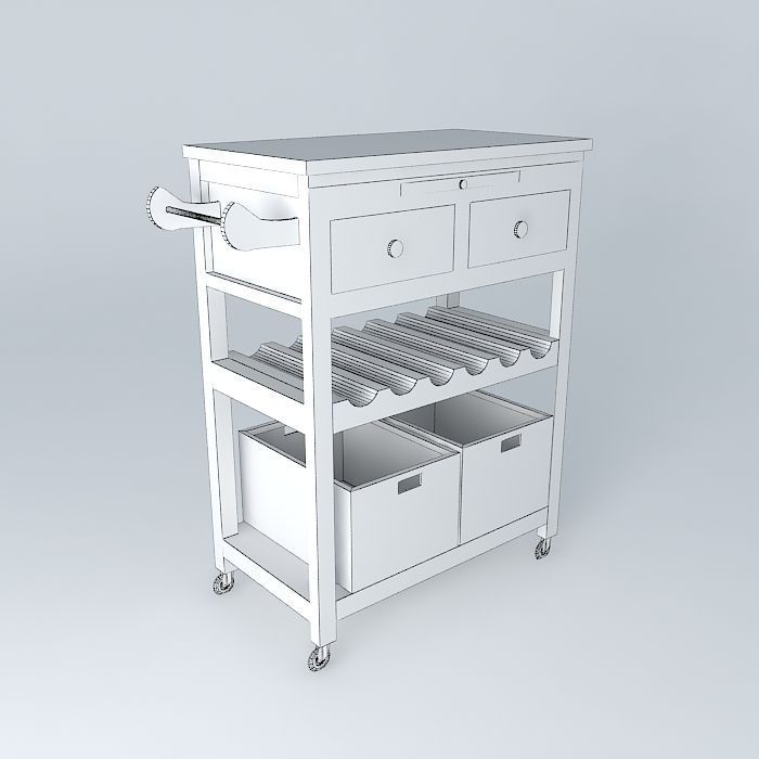Models Of Kitchen Cabinets Description Comments 0 White Kitchen Cabinet 3d Model This 3d Model