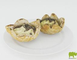 Graverino Desserts 3D Model