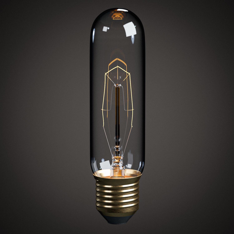 Lightbulb - T10 Tube Vintage Edison Bulb