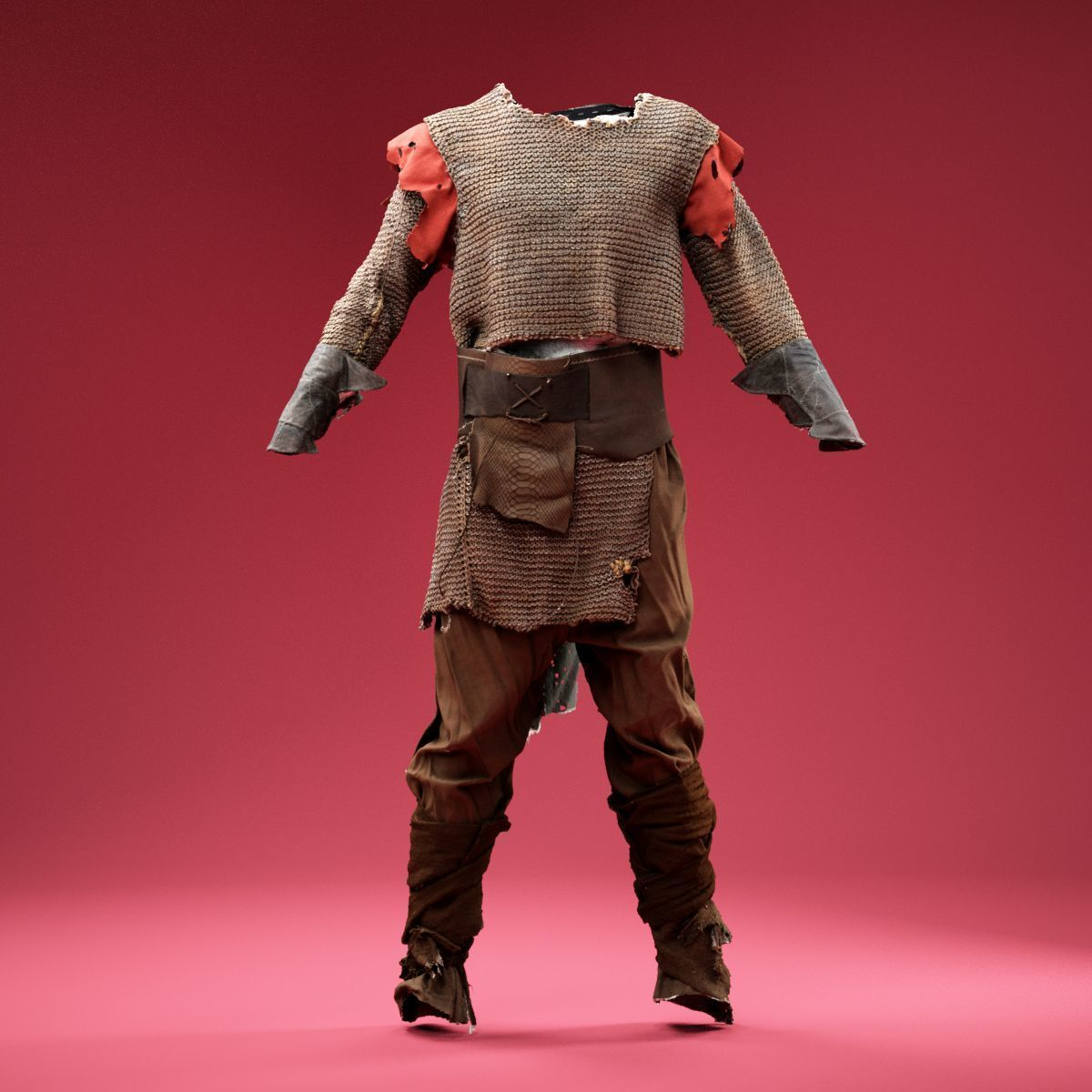 Medieval Soldier Hunter Outfit