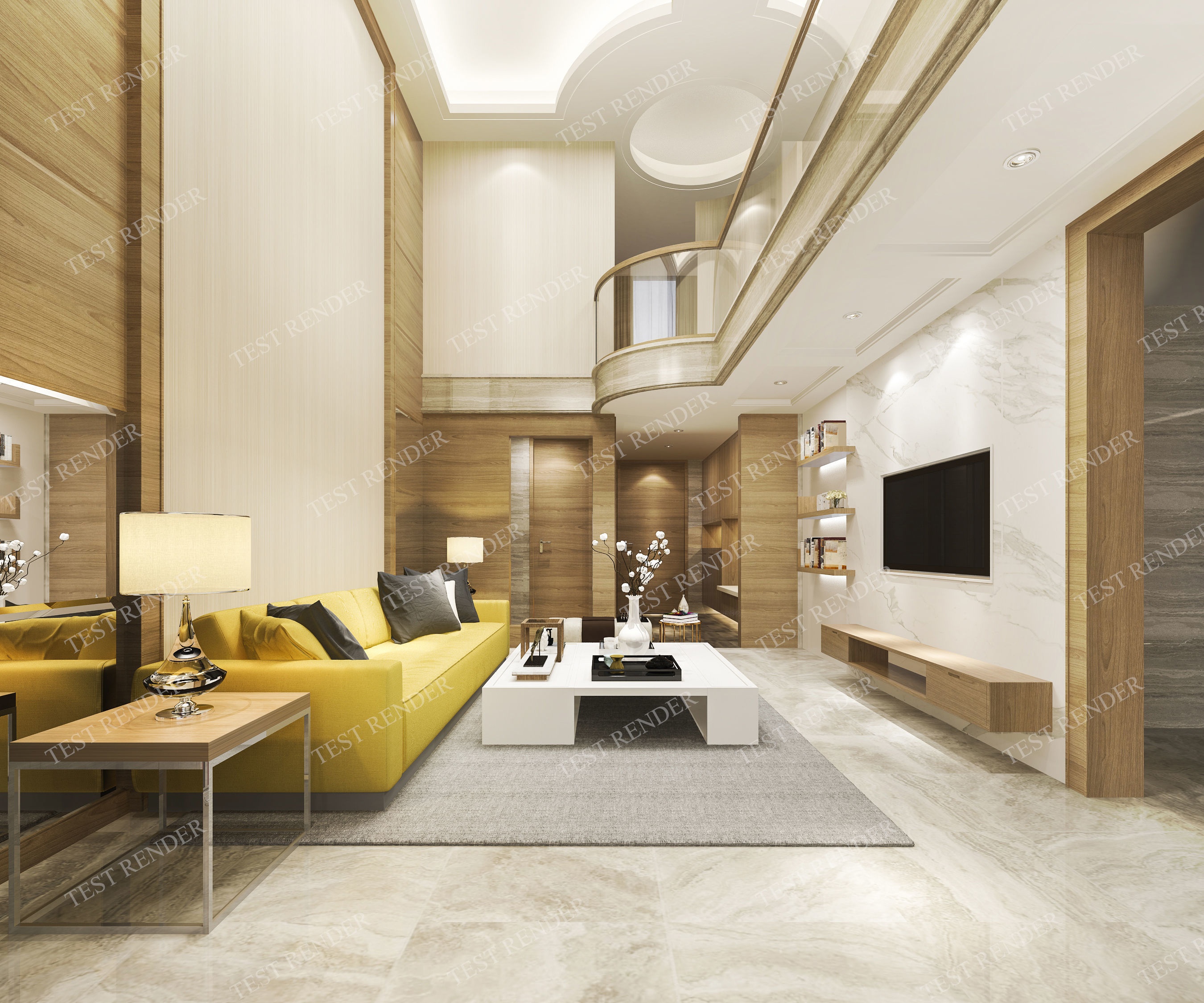 Modern Clic Living Room Near