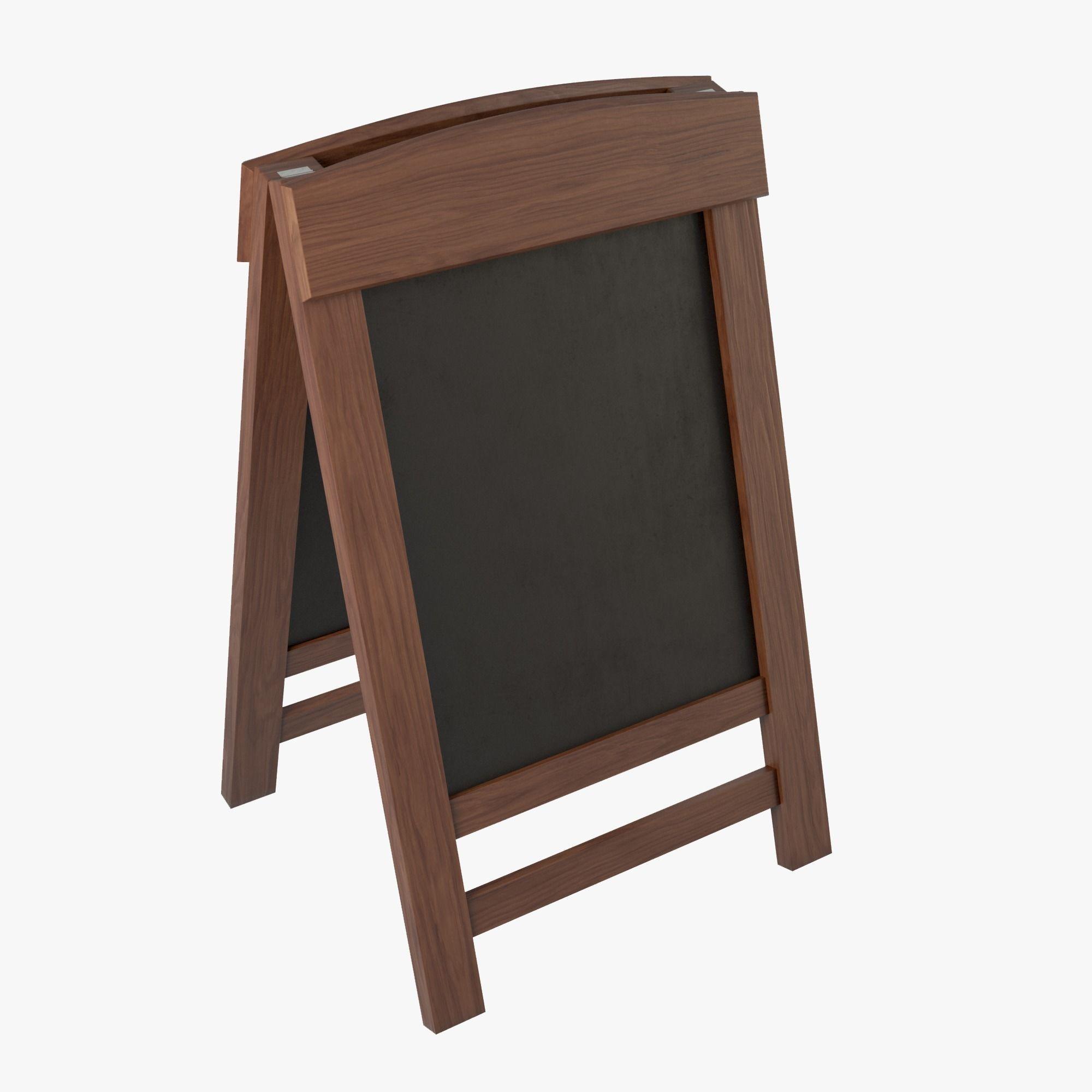 Menu Board Stand 01