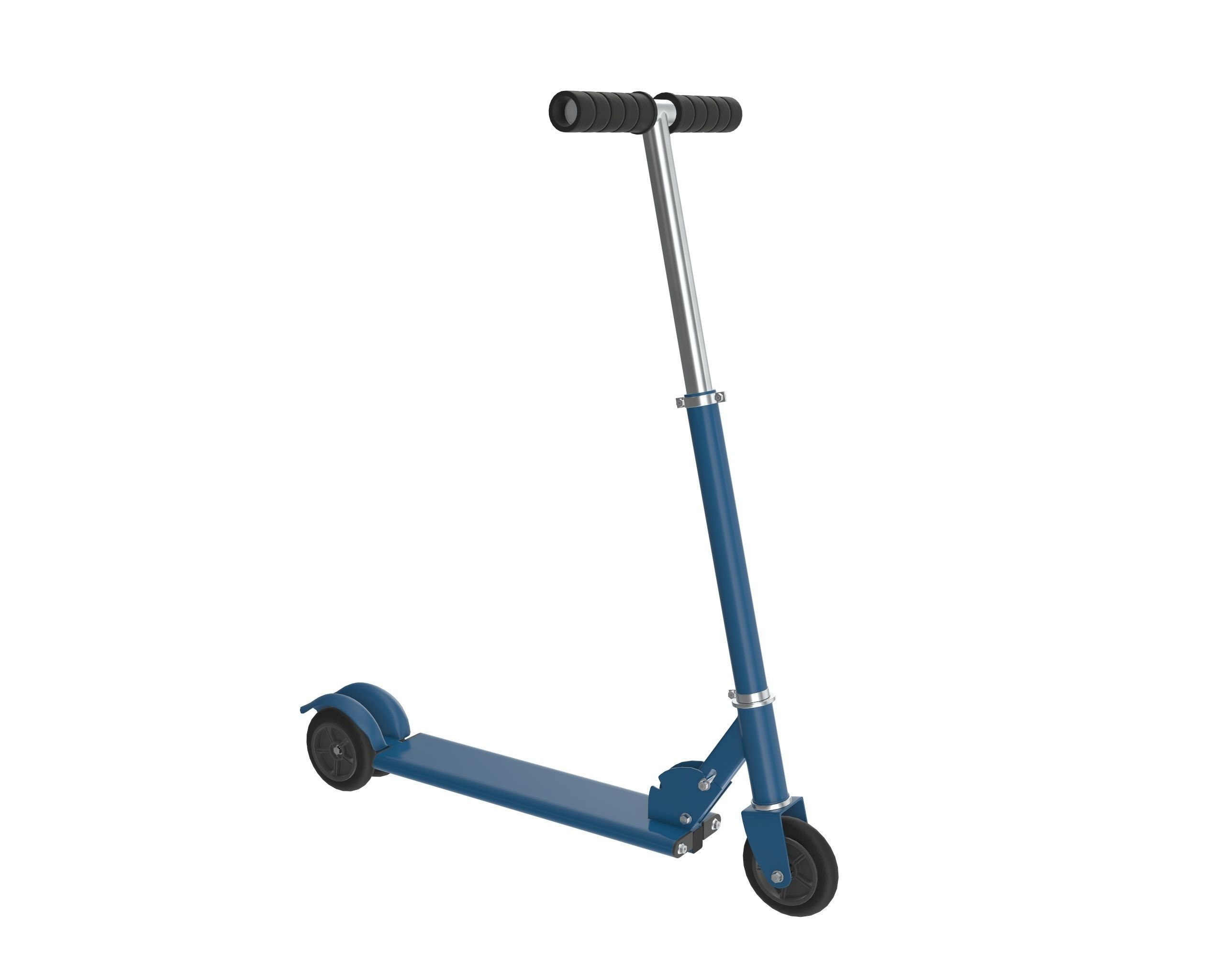 Kick scooter blue