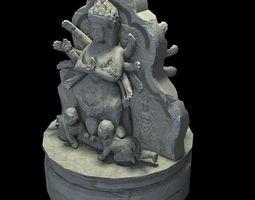 Angkor Wat Games res model 01 3D Model