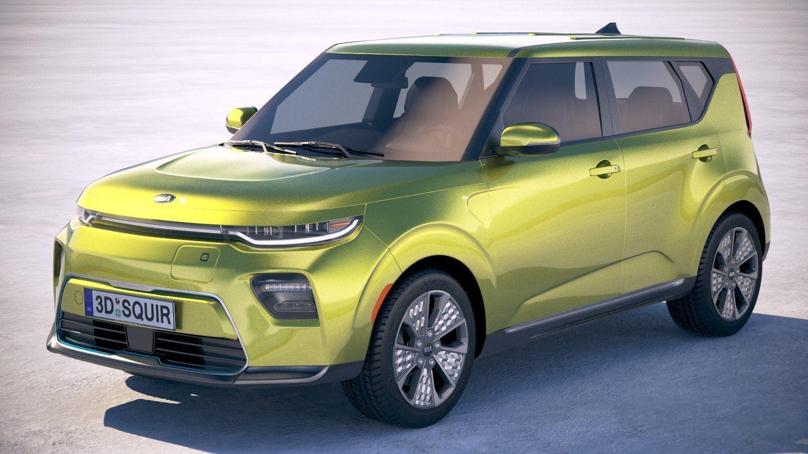 Kia Soul EV 2020 3D | CGTrader