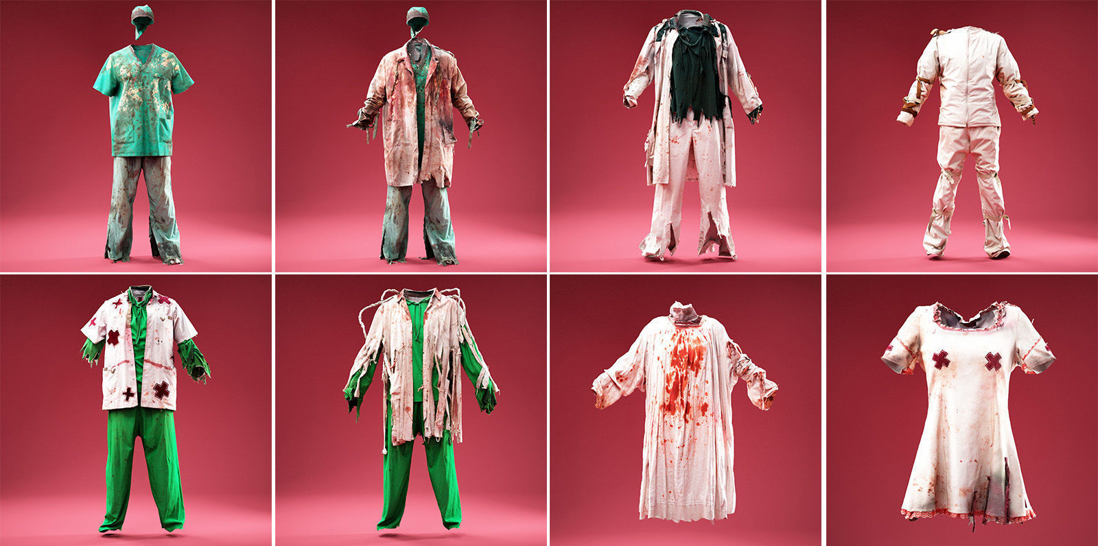 8 Medical Horror Outfits