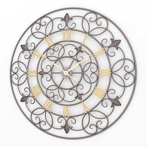 Decorative Wall Clock Model : Decorative wall clock d model max obj ds lwo lw
