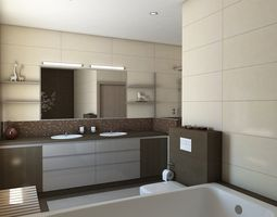 Bathroom 3d Model bathroom interior 3d models | download 3d bathroom files