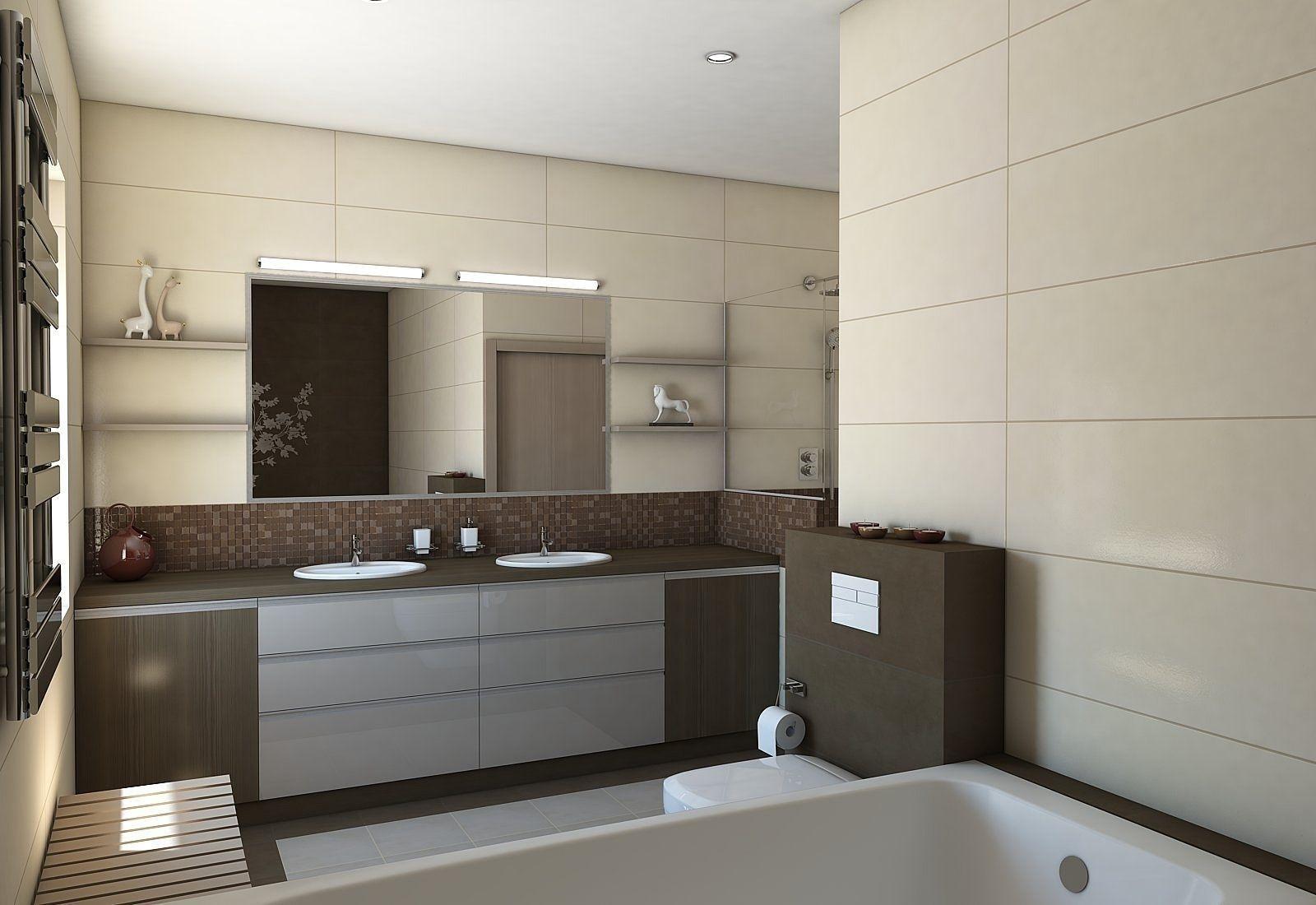 Nice Bathroom With Sauna 3d Model Max Obj 3ds Fbx Skp 1