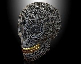 SKULL VORONOI 3D printable model