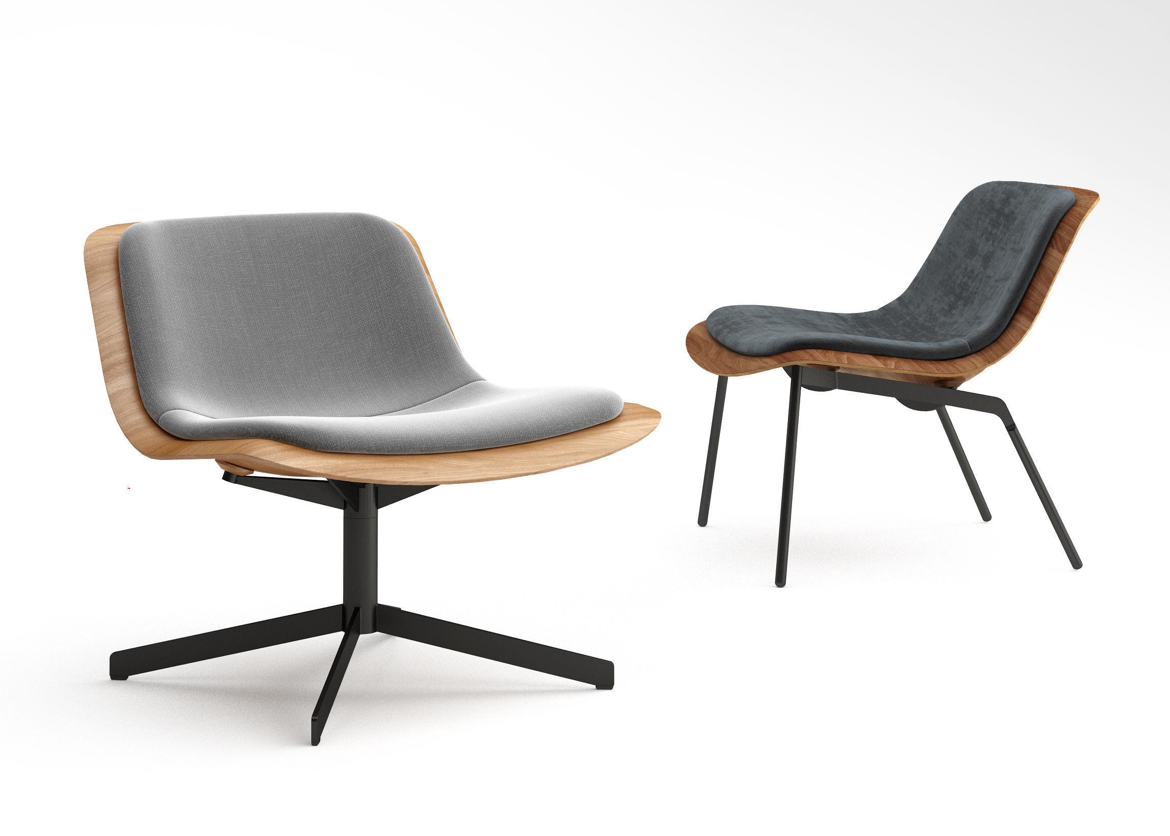 Wondrous Bludot Nonesuch Leather Lounge Chair 3D Model Creativecarmelina Interior Chair Design Creativecarmelinacom