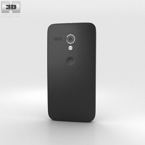 Motorola moto g black 3d model max obj 3ds fbx c4d for Housse motorola moto g