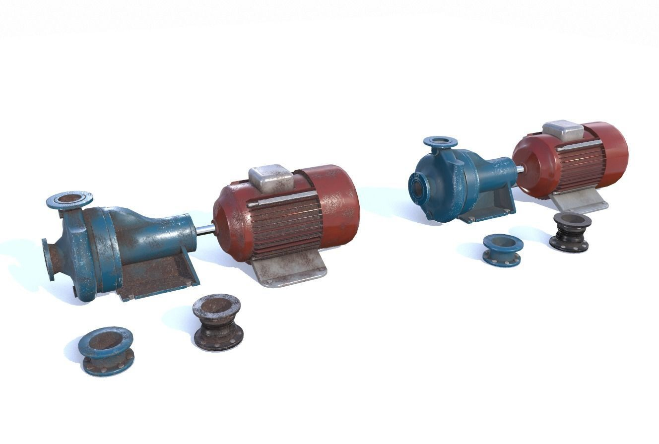 Electric motor pump PBR