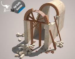 3D asset Roman Arch reenactment