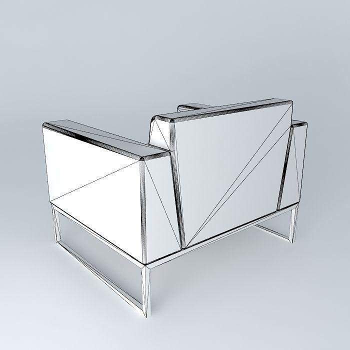 Boss Design Kruze Chair Office Furniture Scene Modern white kitchen cabinet free 3D Model MAX OBJ 3DS FBX STL SKP ...
