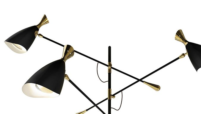 Superior quality lamp from Delightful Duke 3D model MAX
