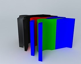 3D model Petroleum Layers