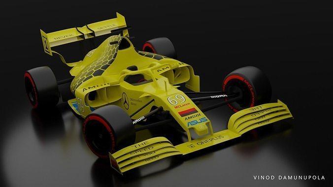 Mercedes Benz MCLaren Formula 1