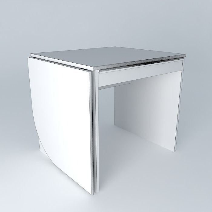 bureau retractable free 3d model max obj 3ds fbx stl skp. Black Bedroom Furniture Sets. Home Design Ideas