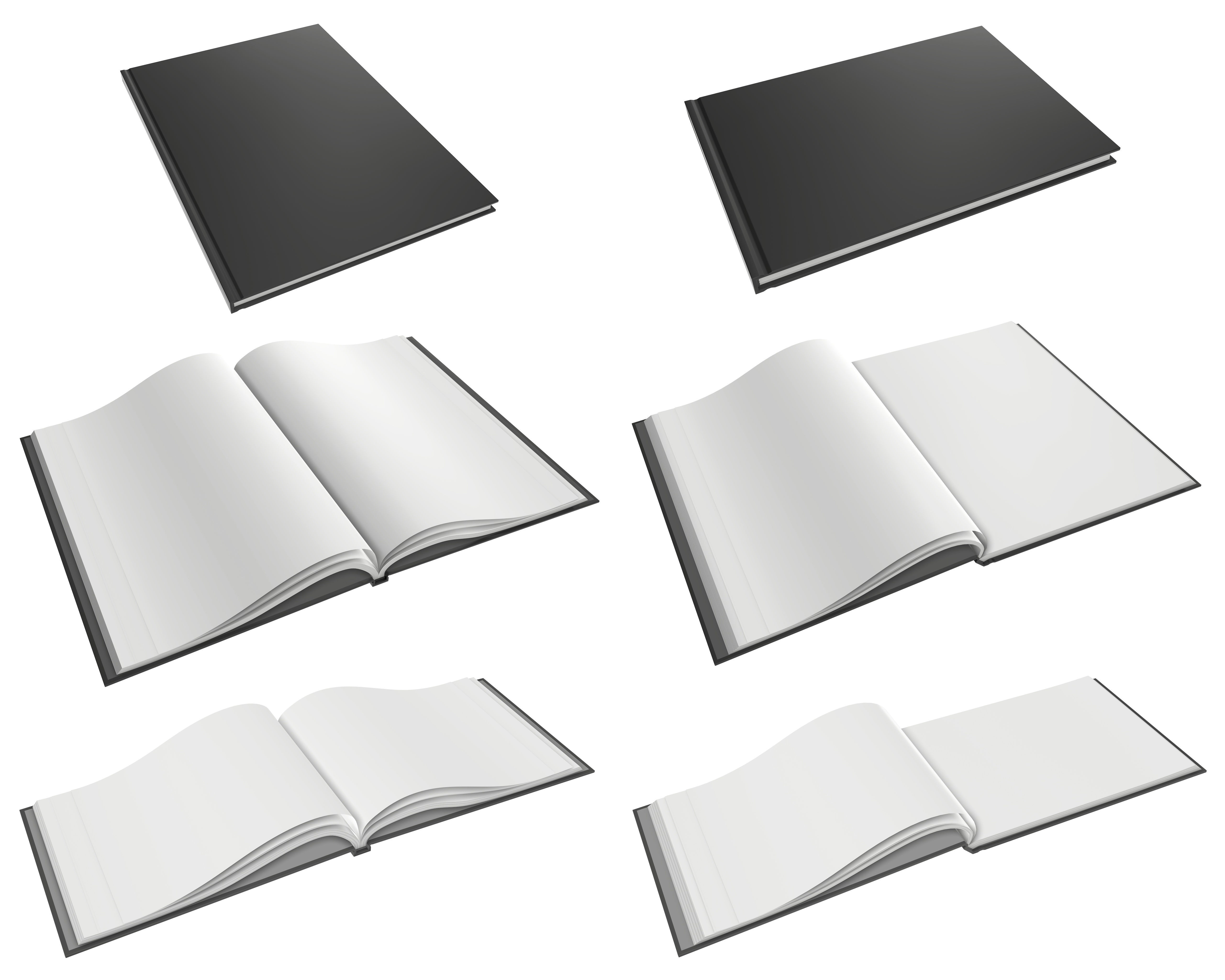 Albums A4 A5 size hardcover for mock-up