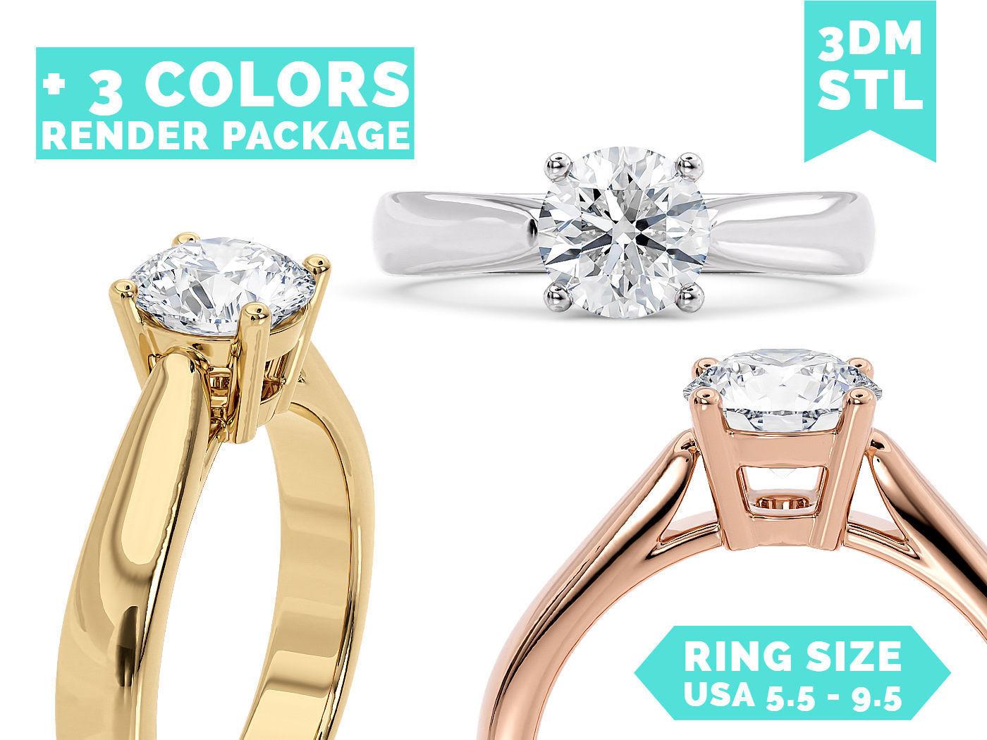 R 0152 - Classic ring
