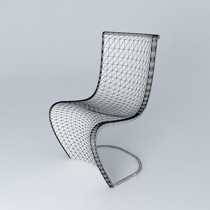 Merveilleux ... Futuristic Chair 3d Model Max Obj 3ds Fbx Stl Skp 4 ...