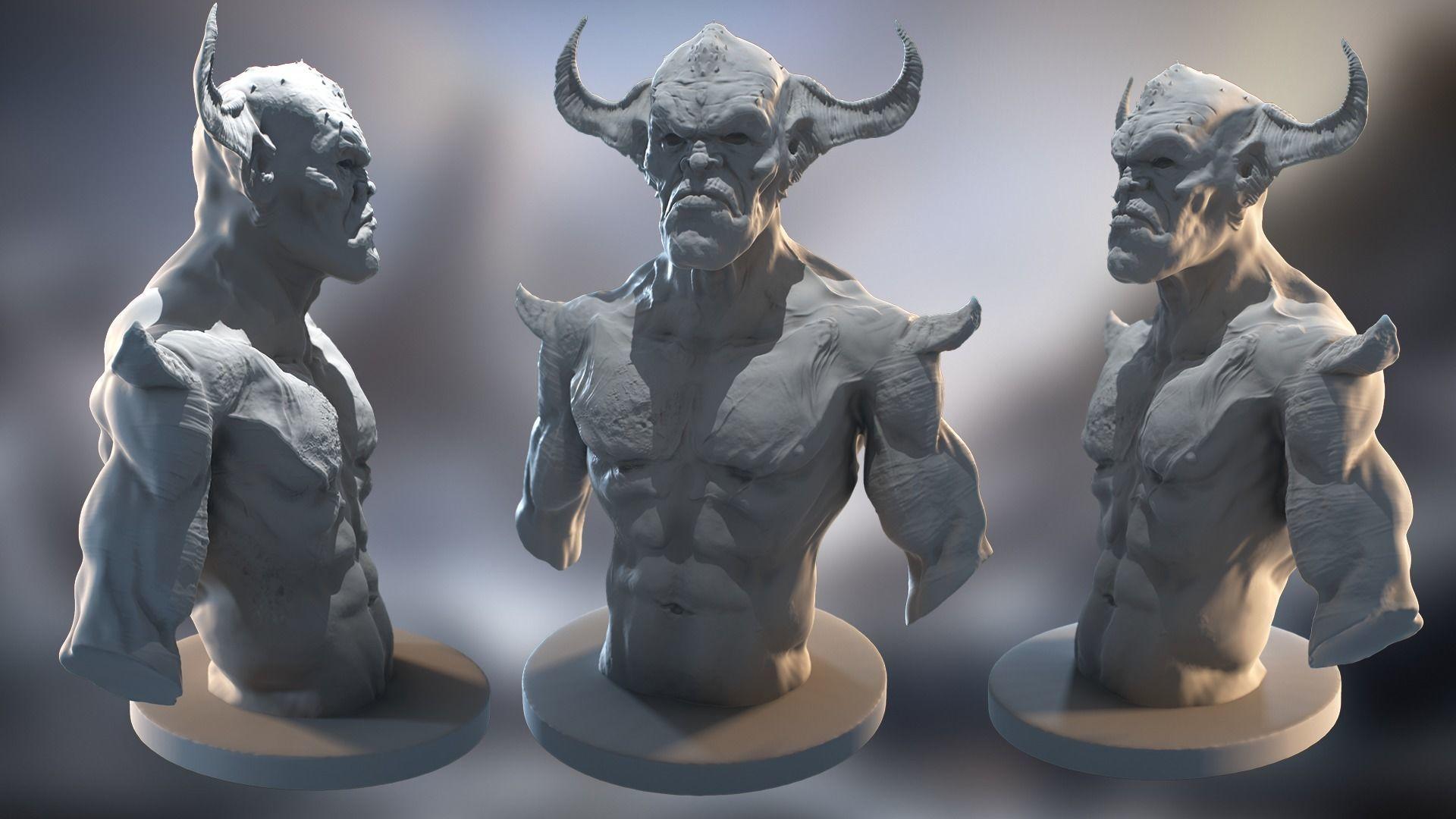 Devil Chest 3D Model