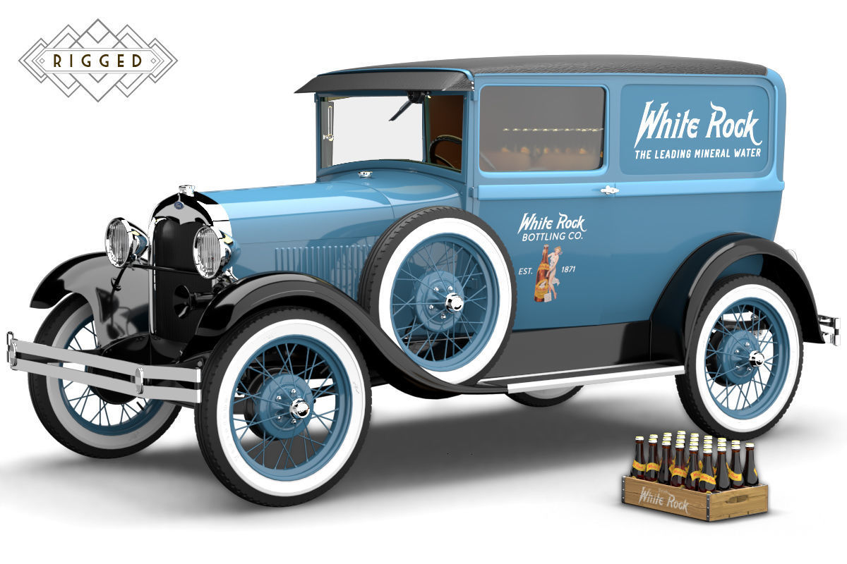Ford Model A 1928 Delivery Rigged