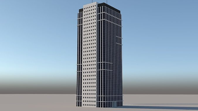 skyscraper 4 3d model low poly max obj mtl 3ds fbx dwg Think A Few Bathroom Remodel Project This Fall!