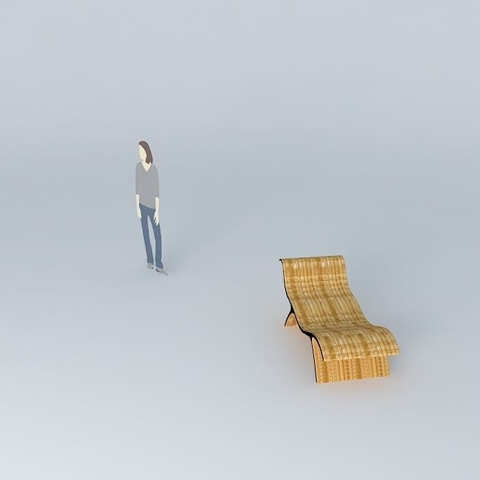 Chaise joaquim free 3d model max obj 3ds fbx stl skp for Chaise game free download