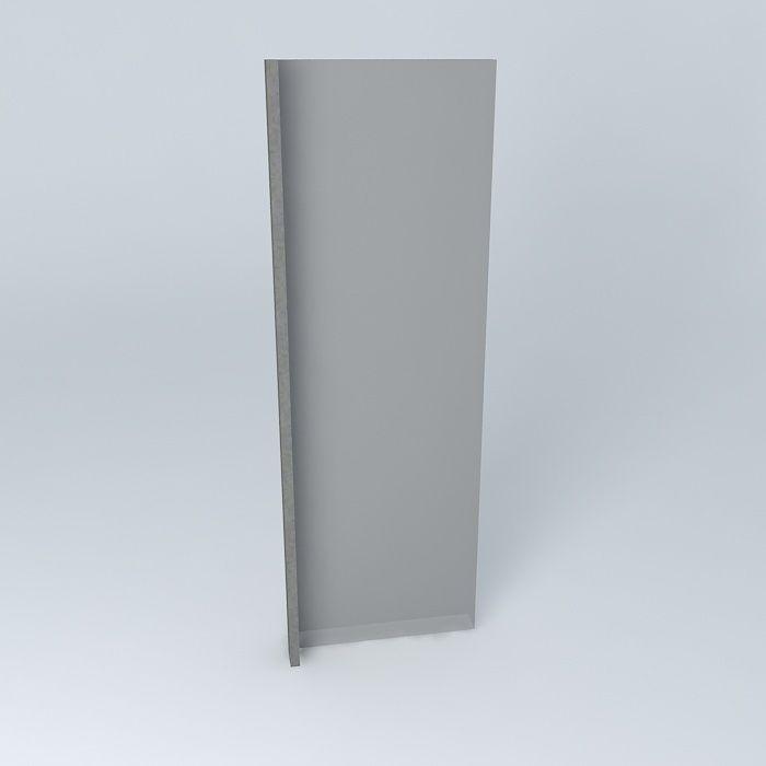 Corporate glass window free 3d model max obj 3ds fbx for Window 3d model