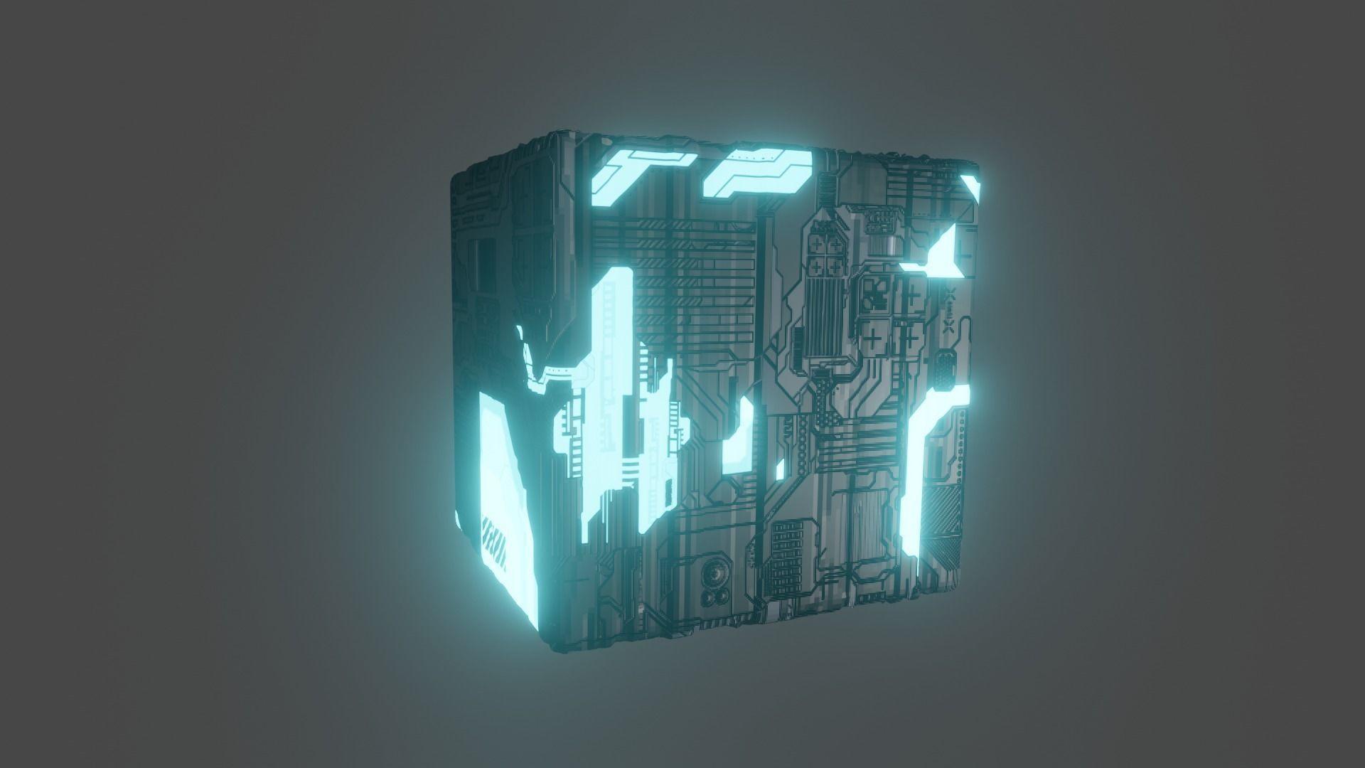 3d Space Cube